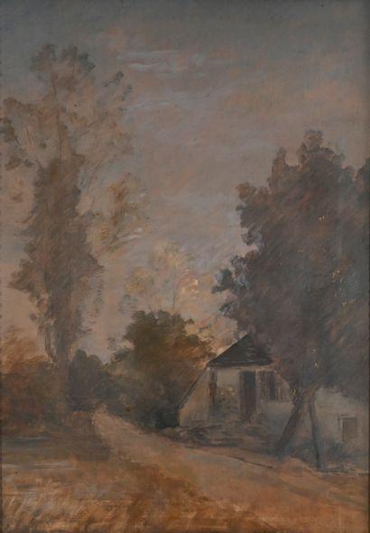 REIGNIER Claude-Marie (1870-1954). Le moulin...