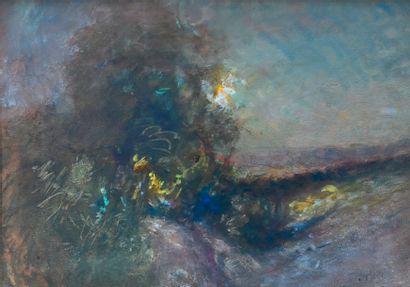 RAVIER François-Auguste (1814-1895). Étude...