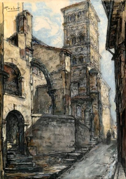 POCHET Antoine (1887-1975). Vienne (Isère),...