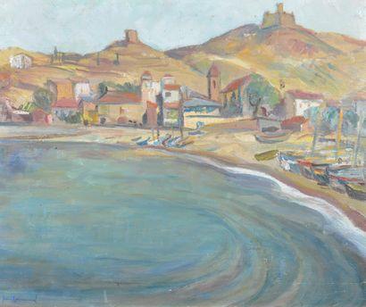 COMMUNAL Jean (1911-1982). Été à Collioure,...