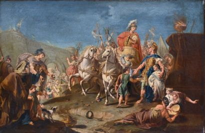 Attribué à Giovanni Antonio Pellegrini (1675-1741),...