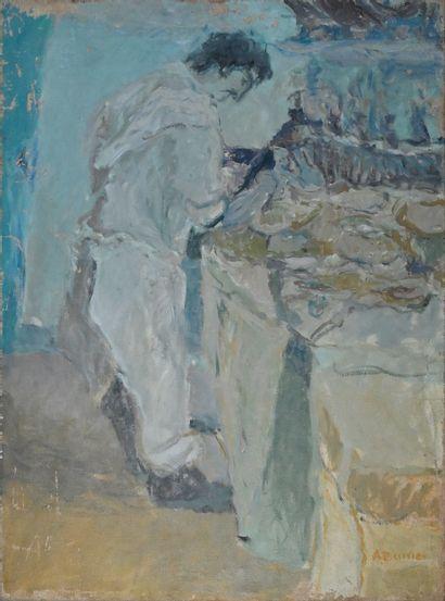 BARRIER Alain (né en 1953). Le boucher au...