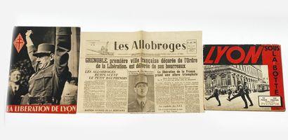 Fascicule La Libération de Lyon & Lyon sous...
