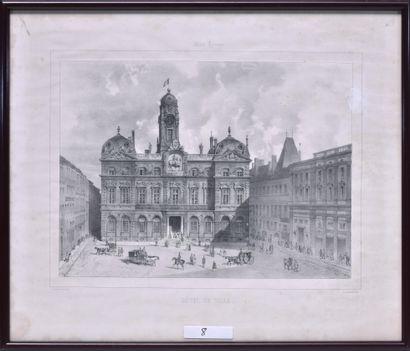 Ecole française du XIXe siècle Hôtel de...
