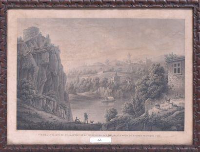 Benedict PIRINGER (1780 - 1826) Vue de la...