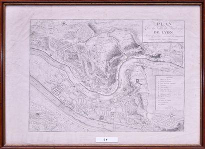 DELAMONCE (France, XVIIIe siècle) Plan de...