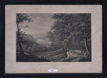 Benedict PIRINGER (1780 - 1826) Fontaine...