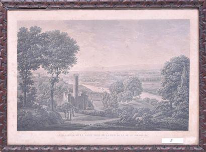 Benedict PIRINGER (1780 - 1826) Tour de...