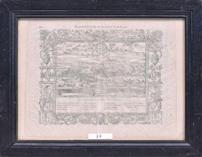 Sébastien MUNSTER (1488 – 1552) Plan de...