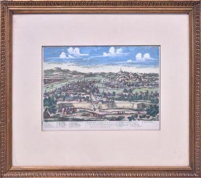 Pierre AVELINE (1656-1722) LYON, ville capitale...