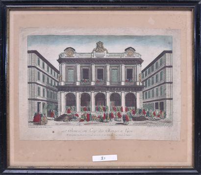 Imagerie de la rue St Jacques (France, XVIIIe...