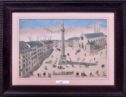 Ecole française du XVIIIe siècle Place des...