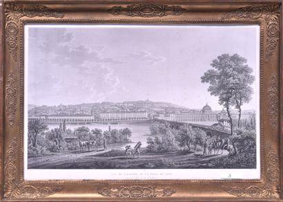 Benedict PIRINGER (1780 - 1826) Vue de l'entrée...