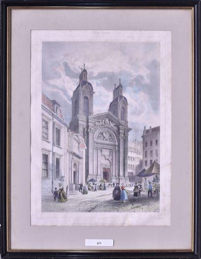 Ecole française du XIXe siècle Entrée du...