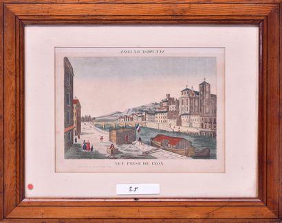 - Imagerie populaire, début du XIXe siècle...