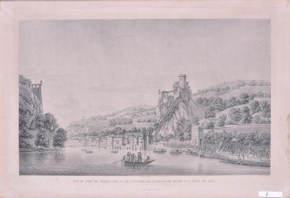 Benedict PIRINGER (1780 - 1826) Vue du fort...