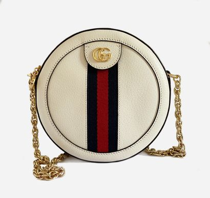 GUCCI. Sac rond bandoulière collection Ophidia,...