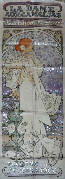 MUCHA Alfons (1860-1939). Affiche originale...