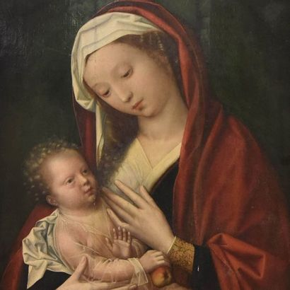 Attribué à Adriaen ISENBRANT (Bruges vers 1480/1490-1551)