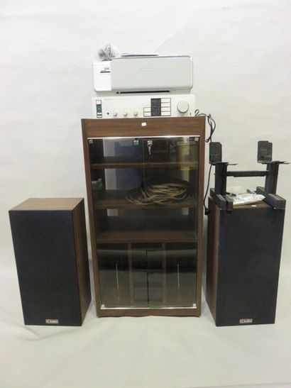 Kenwood amplifier, two Auditor speakers,...