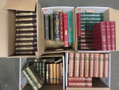 Five book handles (Zola, Saint Simon, d'Artagan,...