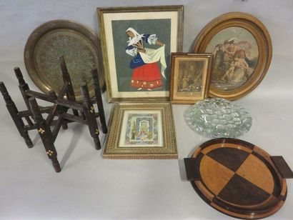 Handle of framed pieces,