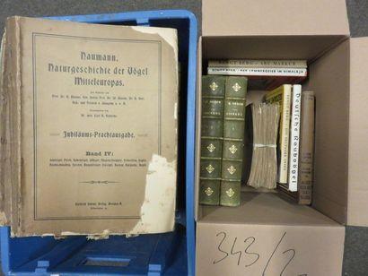 Two ornithology book handles, including Naumann:...