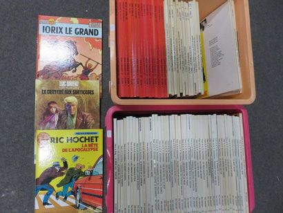 Deux manettes de BD : Alix, Luc Orient, Ric...