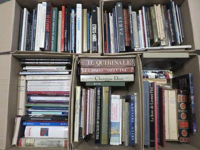 Six manettes de livres d'art et divers.