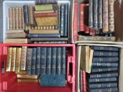 Quatre manettes de livres XIXe.