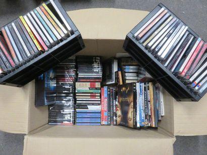 Manette de CD et DVD.