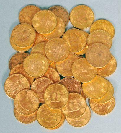 Pièces de 20 dollars en or
