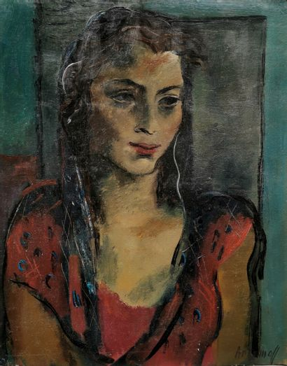 Georges ARTEMOFF (1892-1965).  Portrait de...