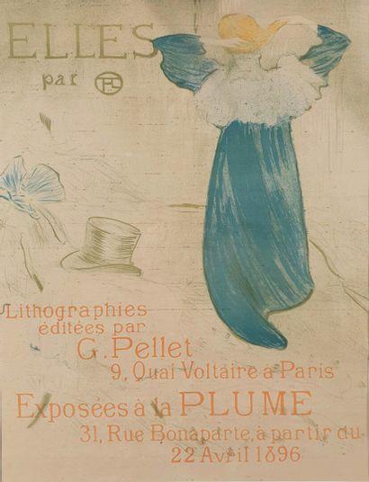 Henri de TOULOUSE-LAUTREC (1864-1901).  ELLES,...