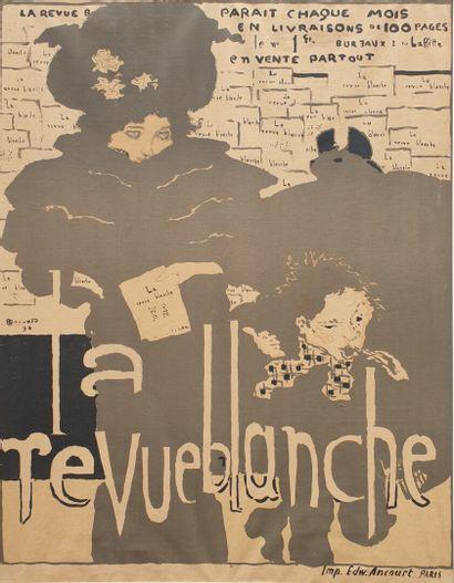 Pierre BONNARD (1867-1947).  La Revue Blanche,...