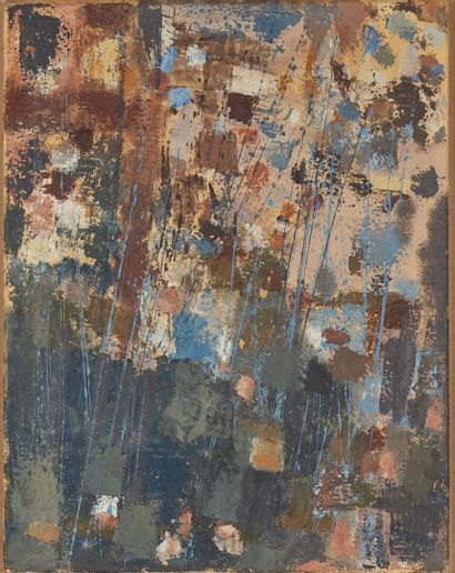 Camille BRYEN (1907-1977).  Composition 133,...