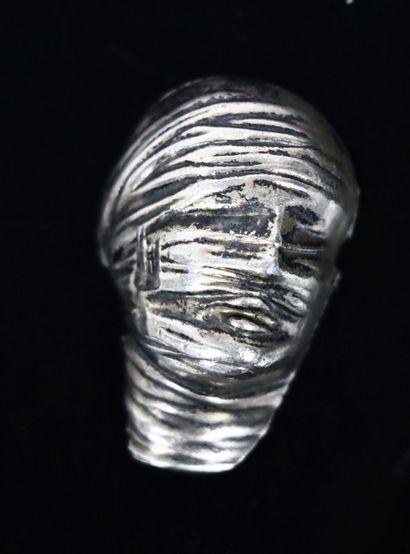 Igor MITORAJ (1944-2014).  Pendentif au visage...