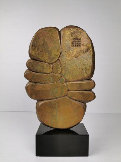 Minoru KANO (1930-2007).  Sans titre.  Sculpture...