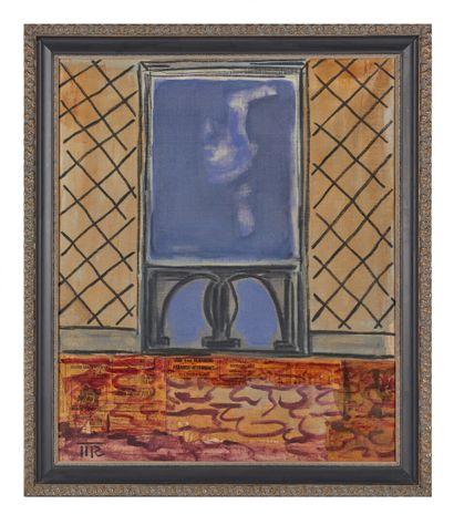 Mark REICHERT (1948).  Balcony window n°6....