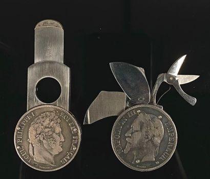 HERMES Paris - ELOI.  Couteau multi-lames...