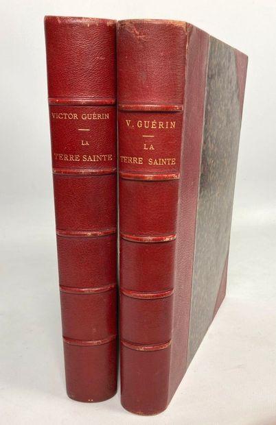 Victor GUERIN, La Terre Sainte, 2 volumes,...