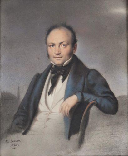 Jean Baptiste ISABEY (1767-1855).  Portrait...