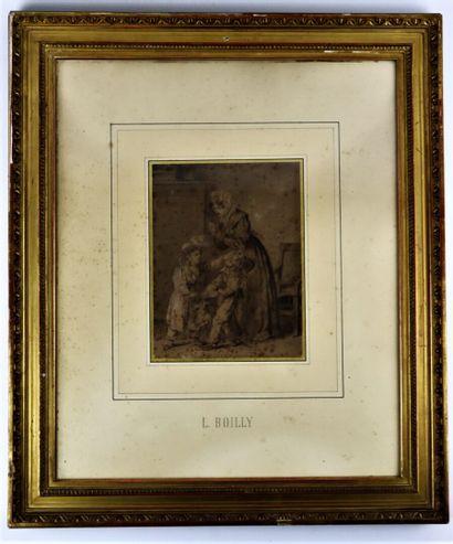 Louis Léopold BOILLY (1761-1845), attribué...