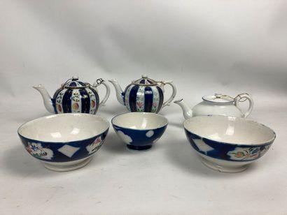 Service à thé Gardner  Porcelaine à décor...
