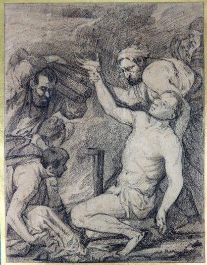 Auguste JEANRON (1808-1877), attribué à....