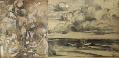 Paul-Elie GERNEZ (1888-1948).  Composition...