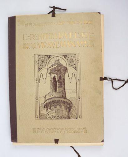 Ugo TARCHI, L'Architettura e l'Arte Musulmana...