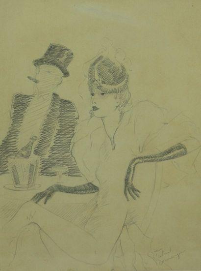 Jean Gabriel DOMERGUE (1889-1962), dans le...