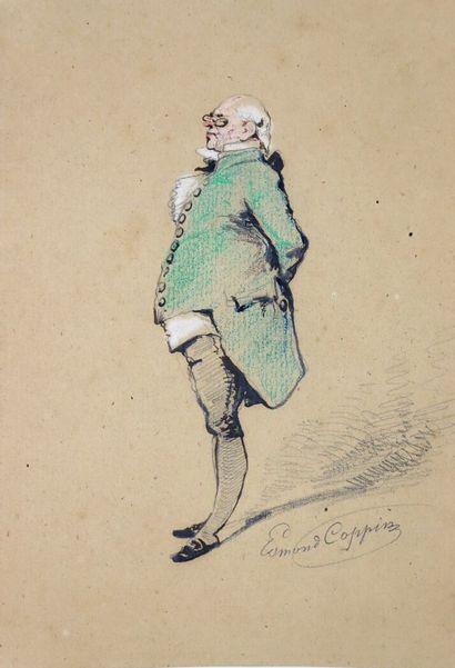 Edmond COPPIN, illustrateur notamment d'Alexandre...
