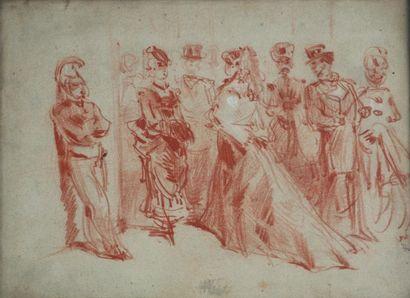 Constantin GUYS (1802-1892), attribué à....